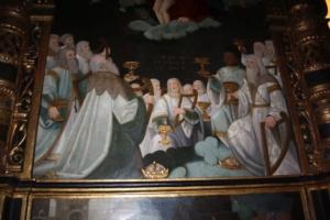 Polittico Pascale Oddone, visione apocalittica dei vegliardi
